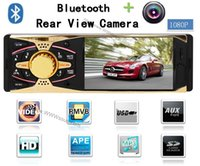 Cheap 4.0 HD Car MP5 Player l+Remote Contro Supports Bluetooth Rear view camera 1080P Stereo FM Radio 5V Charger MP3 MP4 Audio Video