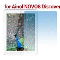 ainol brand - High Quality Brand New Clear LCD Screen Guard Film Protector for Ainol NOVO8 Discover Find Tablet PC Hot