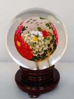 antique chinese - 2016 New artwork Chinese hand made glass crafts glass globe terrarium inner Blossoming for home decoration