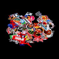 Wholesale Hot New Pieces Stickers Skateboard Snowboard Sticker Laptop Luggage Car Bike Bicycle Decals mix Fashion Cool