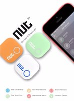 Wholesale Nut Bluetooth Smart Finder Tracking Tracker Bag Key Finder Locator Alarm for iphone Android Colors Green Orange White