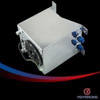 Fuel Pump fuel pump - PQY RACING L Aluminium Fuel Surge tank mirror polish Fuel cell with foam inside sensor PQY TK38