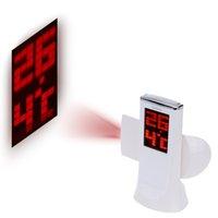 Wholesale Rotatable Digital Projection alarm clock reloj despertador infantil with Large Screen Date Time Temperature Display led clock