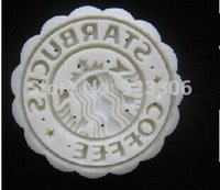 Wholesale Freeshipping set Starbucks Moon Cake Mold Flower Cookie Cutter Biscuit Stamp Mould Plunger Bakeware Cooking Tools G14