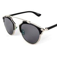 eye glasses - Vintage Metal frame Sunglasses Women Brand New Designer Cat Eye Glasses Fashion Women Decoration Men Classic Eyewear colors