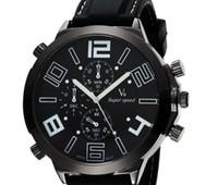 big face clock - V6 Fashion Casual Quartz Men Watch big face sport Wristwatch Dropship silicone Clock Fashion Hours Dress Watch CHRISTMAS GIFT