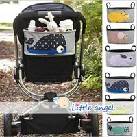Wholesale AAA Quality Stroller Accessories Stroller Accessories storage bottle Diapers organizer bag handbag organizer travel bag LJJD275