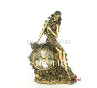 antique small desk - European Classical Beauty Plastic Arts Small Desk Clock