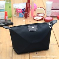 bag for cosmetics big - New Arrival Female Cosmetic Bag Women Handbag Lady Candy Color Clutch For Makeup Bag Big Beauty Bags In Bags Waterproof