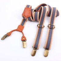 Wholesale HighQuality cm Width Clips Suspenders Men Casual Clothing Braces Belts for Women pc