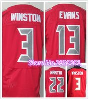 big mike - Factory Outlet top quality Jameis Winston Jersey Mike Evans Jersey Cheap elite Doug Martin Jersey big size M XXXL