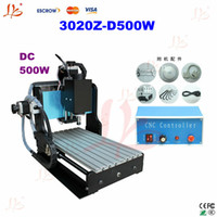 Wholesale Factory price CNC Z D500W Router Engraver machine with SFU1605 ball screw for wood metal working
