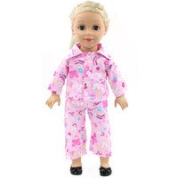 Wholesale Best selling doll accessories high quality sleeping dress Inch American Girl Doll Clothes baby dolls with clothes