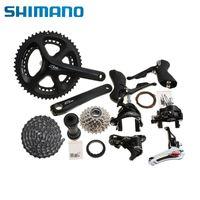 Wholesale 2015 SHIMANO Original Road Bike Groupset x11 speed T mm Black