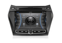 hyundai ix45 - CASKA CAR DVD player inch window CE GPS navigation sat navi Free D MAP CA345 MQ8 for Hyundai iX45 Santa Fe