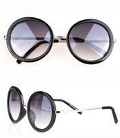 Wholesale 2014 the new star of the sun glasses round RETRO SUNGLASSES fashion mirror sunglasses mix