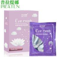 best nourish - PILATEN Eye Mask Nourish Remove Dark Circle Bag under Eye Care Anti wrinkle Moisture Best Travel Sleeping Eye Mask pairs Drop Shipping