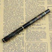 aurora pen - BAOER Black Shimmering Aurora Borealis Pattern Fine Nib Fountain Pen