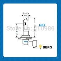 auto halogen bulbs - HB3 HB4 W Auto Headlight Xenon Super White Halogen Bulb K Car Headlight Lamp For Lancer Mitsubishi M32035