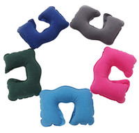 air travel max - Inflatable pillow MAX support kg neck pillow travel air pillow U type nap pillow