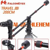 Falcon Eyes Vidéo Voyage Jib JG-M1 2m Mini Portable Potence avec Contrepoids Bowl Head Bag