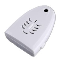auto lock door knob - Mini Wireless IR Sensor Auto Welcome Device Door Ring English White
