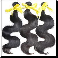 Wholesale Hot Sale Hair Extension Body Wave quot Bundle Natural Hair Golden Hair A