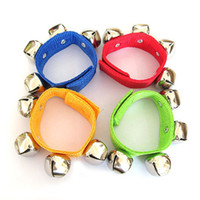 Wholesale Manufacturers selling children s dance Orff baby bell wrist rattles educational toys crisp tones
