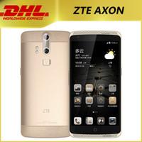Cheap 5.5 Inch ZTE AXON Qualcomm Snapdragon MSM8994 Octa Core FHD 2560*1440 2K Android 5.0 Smart Phone 4G LTE Cellphone 3GB RAM 32GB ROM OTG NFC
