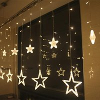 ac floors - Multicolour LED Christmas Lights String Light M Decoration Star For Christmas Party Wedding Halloween Window v v Floor Holiday