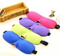 Wholesale 3D Soft Eye Sleep Mask Padded Shade Cover Travel Relax Sleeping Blindfold Sleeping Mask Eye Cover Unisex Adjustable Eye Mask for Sleeping