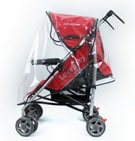 Wholesale Hot Selling Universal Baby Stroller Rain Cover Buggy Pushchair Pram Transparent Rain Cover Good Quality