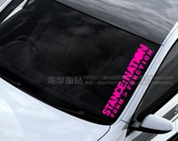 Wholesale Hot car stickers hellaflush stance nation car stickers carinthian