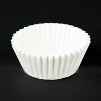 Wholesale Approximate x100pcs White Paper Cake Cup Liners Baking Cup Muffin Kitchen Cupcake Cases