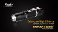 aa belt - Fenix LD09 AA Cree XP E2 LED Waterproof EDC Camping Outdoor Flashlight Hiking Belt Pocket Lightweight Emergency Tactical Torch