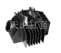 Wholesale YB100 high quality cylinder block for yamaha of two stroke iron cylinder block for motorcycle engine part