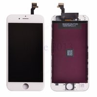 Wholesale 1 high copy LCD display with frame for iphone G inch LCD screen replacement and touch digitizer with frame