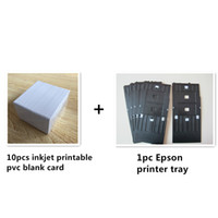Wholesale Plastic PVC ID card Inkjet printer tray for Epson R200 R210 R220 R230 R260 R350