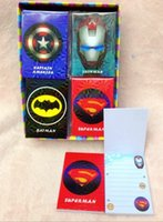 Planners & Organizers best notebook kids - New set Mixed The Avengers Memo Pad Stationery Small Book Notebook For Kid Best Gift fb01