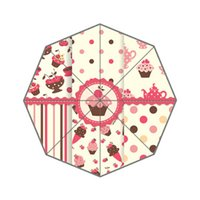 Raining beautiful umbrellas sale - Beautiful Cakes Custom Umbrella Fashion Design Umbrella For Man And Women High Quality Hot Sale UMN
