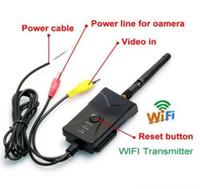 Wholesale AV video Wifi Transmitter W Waterproof wireless P2P fps SmartPhone realtime
