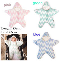 Wholesale High Quality Cotton Soft Baby Infant Swaddle Wrap Blanket Sleeping Bag Sleep Sack Sleepbag Sleepsacks year Boy Girl Unisex Wrap
