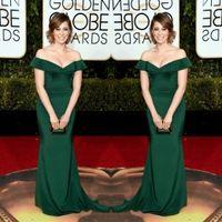 apple bloom - 2016 The rd Golden Globe Awards Rachel Bloom Gowns Off the Shoulder Evening Dresses Vintage Wedding Mermaid Mother of the Bride Dresses