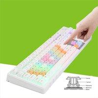 Wholesale 2015 New Backlight Game Keyboard Professional Mechanical Computer Gamer Keyboard