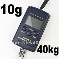Cheap 40kg x 10g Portable Mini Electronic Digital Scale Hanging Fishing Hook Pocket Weighing Scale