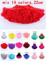 ruffle skirt - 14 colors Christmas Tutu skirts baby infant tutu skirt kids Butterfly Ruffle Pettiskirt birthday dress princess skirts bowknot Skirt