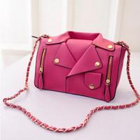 Wholesale SALE Designer High Quality Women Leather Handbags Women Clothing Shoulder Jacket Bags Messenger Bag Day Clutch Purse Bags B757