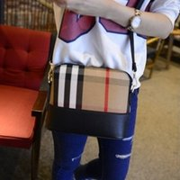 Wholesale 2015 new Womens Leather pu Crossbody Designer Handbag Cover Plaid Chains Ladies Shoulder Bags Satchel diagonal packet lattice chain CC