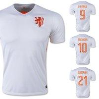 memphis - Netherlands Soccer Jersey V PERSIE White Soccer Jerseys Holland SNEIJDER Kits MEMPHIS Top Thailand Player Version