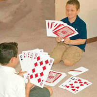 Wholesale Shua Taipai over size playing card Big card Huge A4 poker funny toy